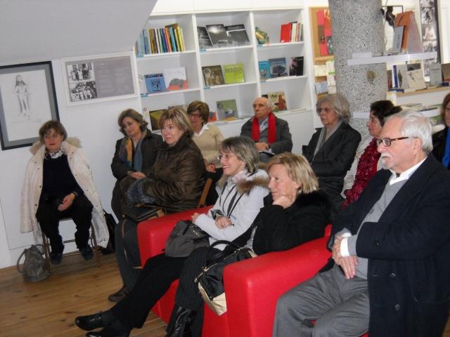 Imagens da visita dos alunos do Instituto António F. Gomes